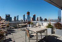 Roof Deck at 350 West 42nd Street