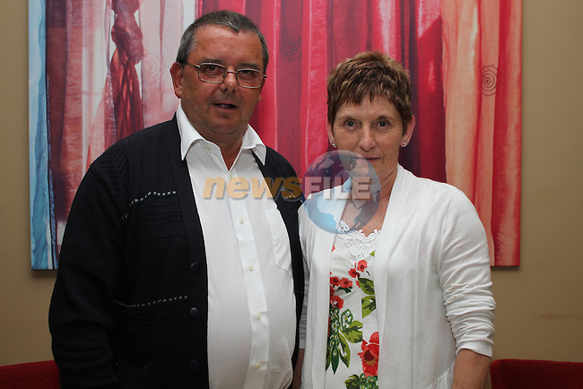 Margaret and Liam Kelly celebrating their 60ths in Harrys...(Photo credit should read www.newsfile.ie)....This Picture has been sent you under the conditions enclosed by:.Newsfile Ltd..The Studio,.Millmount Abbey,.Drogheda,.Co Meath..Ireland..Tel: +353(0)41-9871240.Fax: +353(0)41-9871260.GSM: +353(0)86-2500958.email: pictures@newsfile.ie.www.newsfile.ie.