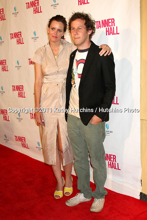 """LOS ANGELES - SEP 6:  Ione Skye, Ben Lee arriving at the """"Tanner Hall"""" Screening at the Vista Theater on September 6, 2011 in Los Angeles, CA"""