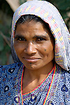 Pakistani woman in Mirpurkhas, Sindh. This area has long been plagued by huge landowners forcing poor families into slavery.