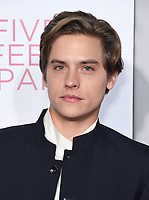07 March 2019 - Westwood, California - Dylan Sprouse. &quot;Five Feet Apart&quot; Los Angeles Premiere held at the Fox Bruin Theatre. <br /> CAP/ADM/BT<br /> &copy;BT/ADM/Capital Pictures