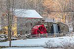 Longfellow's Wayside Inn Gristmill in Sudbury, MA, US