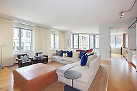 Living Room at 100 West 18th Street