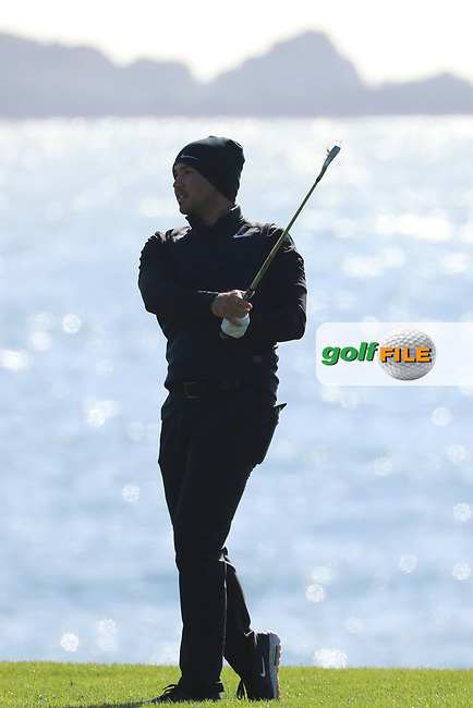 Jason Day (AUS) during the final round of the AT&amp;T Pro-Am, Pebble Beach Golf Links, Monterey, USA. 10/02/2019<br /> Picture: Golffile | Phil Inglis<br /> <br /> <br /> All photo usage must carry mandatory copyright credit (&copy; Golffile | Phil Inglis)