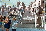 Mural in Venice Beach, CA 1985