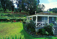 Silver Cloud Ranch is a bed and breakfast located in upcountry Maui. It is known for its tranquility, old time charm and sweeping views of the central valley, West Maui Mountains and the south side of the island.