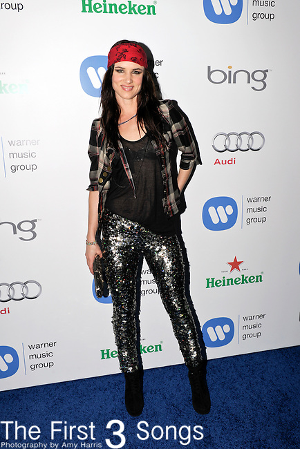 Actress Juliette Lewis attends the Warner Music Group/Bing Grammy Event at the Soho House in LA on Sunday February 13, 2011.