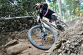 8th September 2017, Smithfield Forest, Cairns, Australia; UCI Mountain Bike World Championships; Amaury Pierron (FRA) riding for Commencal - Lac Blanc during the downhill official timed session;