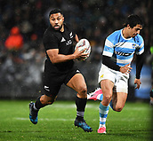 9th September 2017, Yarrow Stadium, New Plymouth. New Zealand; Supersport Rugby Championship, New Zealand versus Argentina; Lima Sopoaga