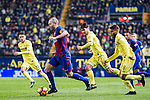 Andres Iniesta Lujan of FC Barcelona in action during their La Liga match between Villarreal and FC Barcelona at the Estadio de la Cerámica on 08 January 2017 in Villarreal, Spain. Photo by Maria Jose Segovia Carmona / Power Sport Images