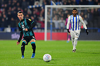 Bersant Celina of Swansea City in action during the Sky Bet Championship match between Huddersfield Town and Swansea City at The John Smith's Stadium in Huddersfield, England, UK. Tuesday 26 November 2019
