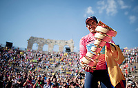 Richard Carapaz (ECU/Movistar) wins the 102nd Giro d'Italia <br /> <br /> Stage 21 (ITT): Verona to Verona (17km)<br /> 102nd Giro d'Italia 2019<br /> <br /> ©kramon