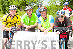 Ger sweeney, Gerard Murphy both Kilcummin, denis Murphy Glencar and John Finnegan Kilcummin who participated in the Tour de Sliabh Luachra  on Sunday