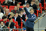 Fabio Capello England manager during the Friendly International match at Wembley Stadium, London. Picture date 28th May 2008. Picture credit should read: Simon Bellis/Sportimage