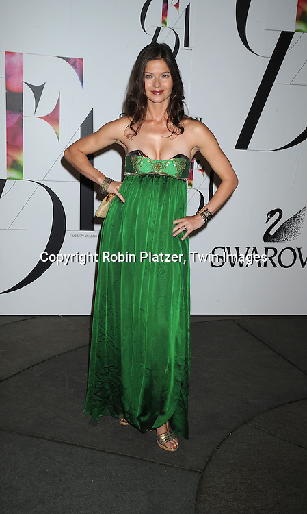 Jill Hennessy.posing for photographers at The 2008 CFDA Fashion Awards on June 2, 2008 at The New York Public Library in .New York City. ..Robin Platzer, Twin Images