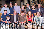 The Hickey family from Rathmore ringing in the New Year in the Royal hotel Killarney were front row l-r: Damian, Faye, Pat, Eileen, Catriona and Sylvia Hickey, back row: Adrian Hickey, Aileen O'Keeffe, Alan, Mary, Donal Hickey, Eileen Kelly and Hugh Kelly