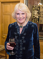 Camilla Duchess of Cornwall attends a dinner for the English & Welsh Wine Industry