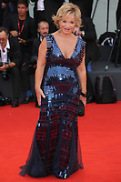 "VENICE, ITALY - AUGUST 28: Alberta Ferretti walks the red carpet ahead of the Opening Ceremony and the ""La Verite"" (The Truth) screening during the 76th Venice Film Festival at Sala Grande on August 28, 2019 in Venice, Italy., 2019 in Venice, Italy. (Photo by Marck Cape/Inside Foto)<br /> Venezia 28/08/2019"