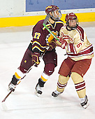 Matt Frank, Mike Handza - The Ferris State Bulldogs defeated the University of Denver Pioneers 3-2 in the Denver Cup consolation game on Saturday, December 31, 2005, at Magness Arena in Denver, Colorado.