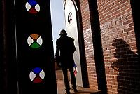 RWANDA, Byumba , door of catholic church / RUANDA, Byumba, Tuer der Kirche