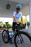 Dylan Van Baarle (NED) Team Sky gets ready for a morning training ride before Stage 1 of the La Vuelta 2018, an individual time trial of 8km running around Malaga city centre. Mijas, Spain. 23rd August 2018.<br /> Picture: Eoin Clarke | Cyclefile<br /> <br /> <br /> All photos usage must carry mandatory copyright credit (&copy; Cyclefile | Eoin Clarke)