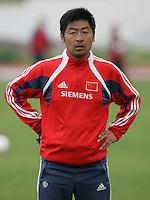 MAR 15, 2006: Albufeira, Portugal:  Liangxing Ma