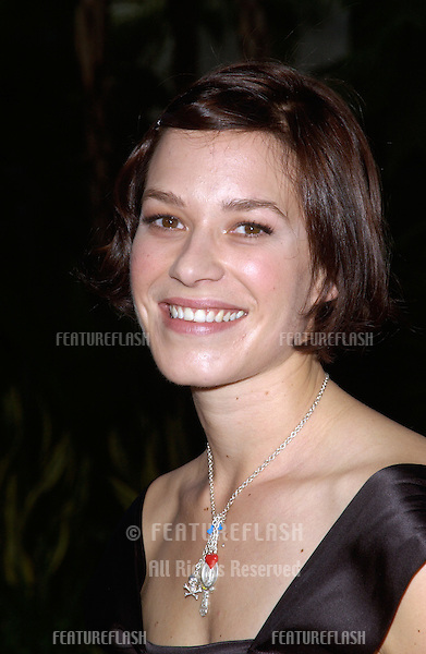 Actress FRANKA POTENTE at the world premiere, in Hollywood, of her new movie The Bourne Supremacy..July 15, 2004