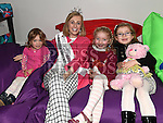 Rose of Tralee for 2015 Elysha Brennan with Noinin Flood, Roisin and Emer Dunne at the official opening of Slane Foróige Youth Café. Photo:Colin Bell/pressphotos.ie