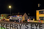 A lorry doing sewerage survey on Tuesday night, at the site of the recent flooding in O'Connor's Terrace, Tralee