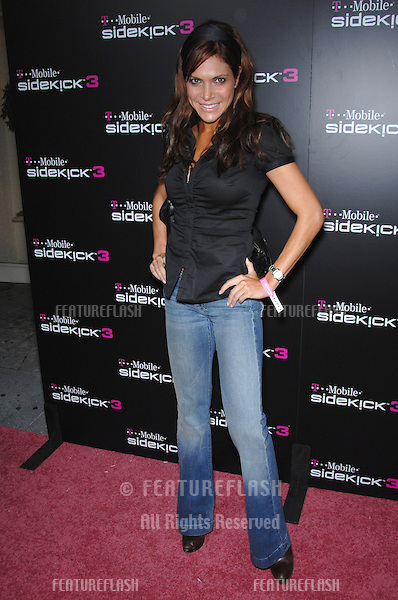 AYDA FIELD at party in Beverly Hills to launch the new limited edition T-Mobile Sidekick 3 designs..October 12, 2006  Los Angeles, CA.Picture: Paul Smith / Featureflash