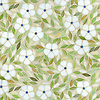 Jacqueline, a waterjet jewel glass mosaic, shown in Absolute white, Chalcedony, Peridot, and Quartz/Agate, is part of the Silk Road® collection by New Ravenna.