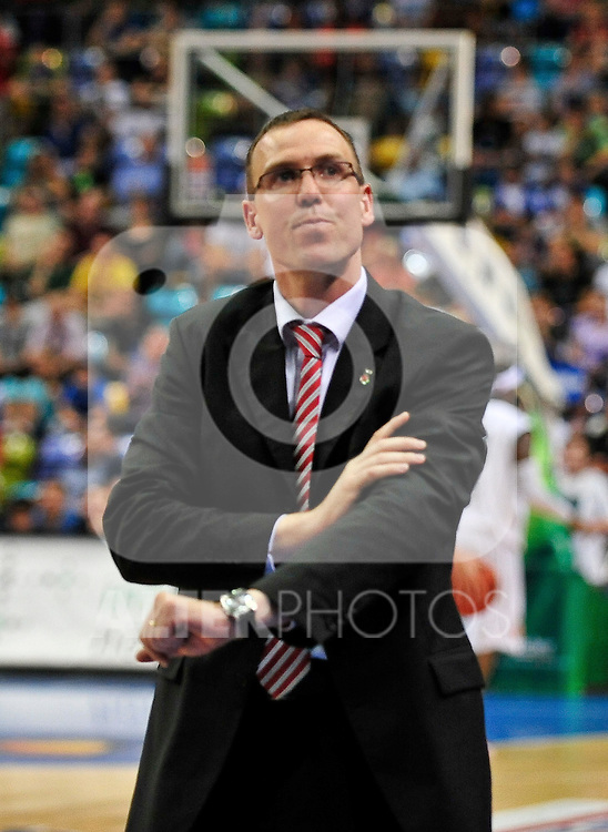 09.06.2010, Ballsporthalle, Frankfurt, GER, 1.BBL - Play Off Finale, Deutsche Bank Skyliners vs Brose Baskets Bamberg, im Bild Chris Fleming (Head Coach Bamberg),  Foto © nph / Roth