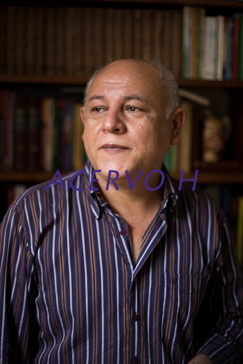 Daniel Rebisso, ufólogo e escritor a escrever um livro sobre o caso de aparecimento de extra-terrestre no município de Colares no estado do Pará ocorrido 40 anos atrás.<br /> ©Wagner Santana <br /> 2017