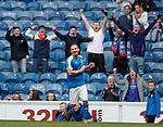 24.3.2018: Rangers legends match:<br /> Peter Lovenkrands scores
