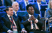 1st December 2017, State Kremlin Palace, Moscow, Russia; Football, Draw for the FIFA- World Cup 2018, Moscow , December 01, 2017 |usage worldwide. Brazilian star Pele in attendance
