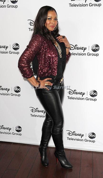 "Tamala Jones arriving at the Disney ABC Televison Group Hosts ""TCA Winter Press Tour"" held at the Langham Huntington Hotel in Pasadena, CA. January 10, 2013."