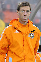 Houston Dynamo assistant coach Steve Ralston. D.C. United defeated The Houston Dynamo 3-2 at RFK Stadium, Saturday April 28, 2012.
