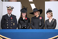 Dutch Royals attend Remembrance Service in London - UK