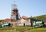 Big Pit National Coal Museum, Blaenavon, Torfaen, Monmouthshire, South Wales, UK