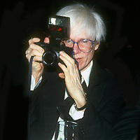 Andy Warhol 1982<br /> Photo By John Barrett/PHOTOlink.net /MediaPunch