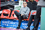 Spain coach Sergio Scariolo during European Qualifiers to China 2019 World Cup match between Spain and Montenegro at Principe Felipe Stadium in Zaragoza , Spain. February 22, 2018. (ALTERPHOTOS/Borja B.Hojas)