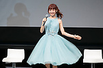Singer and actress Sayaka Kanda attends the Princess Beauty Festival for the 35th anniversary of 25ans women's magazine on October 3, 2015, Tokyo, Japan. The event introduces beauty methods and the latest cosmetic products with celebrities and guests. (Photo by Rodrigo Reyes Marin/AFLO)