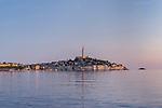 Croatia, Istria, Rovinj at Sunset