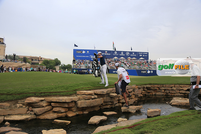 Danny Willett (ENG) on the 18th fairway during the 3rd round of the DP World Tour Championship, Jumeirah Golf Estates, Dubai, United Arab Emirates. 17/11/2018<br /> Picture: Golffile | Fran Caffrey<br /> <br /> <br /> All photo usage must carry mandatory copyright credit (&copy; Golffile | Fran Caffrey)