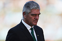 PRETORIA, SOUTH AFRICA - OCTOBER 06: Nick Mallett during the Rugby Championship match between South Africa Springboks and New Zealand All Blacks at Loftus Versfeld Stadium. on October 6, 2018 in Pretoria, South Africa. Photo: Steve Haag / stevehaagsports.com