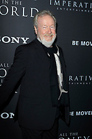 BEVERLY HILLS - DEC 18: Ridley Scott at the premiere of Sony Pictures Entertainment's 'All The Money In The World' at the Samuel Goldwyn Theater on December 18, 2017 in Beverly Hills, CA