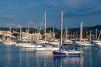 Spanien, Mallorca, Hafen von Portocolom (Porto Colom)