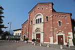 Coronavirus Outbreak Italy is on Lockdown and quarantine. 12th of March 2020, Pergine Valsugana, Italy.The daily life in an empty small city of North of Italy. Italy is on lockdown till 3rd of April 2020 in a bid to slow down the spread of coronavirus Covid-19.