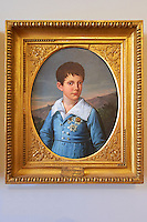 Prince Ferdinand painted by Giuseppe Cammarano. The Kings of Naples Royal Palace of Caserta, Italy. A UNESCO World Heritage Site