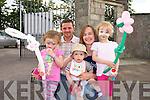Ciara, Megan, David, Mary and Mike Ahern from Ballymacelligott. enjoying the Ted O'Keeffe Family Fun Day at Ballymac GAA on Sunday